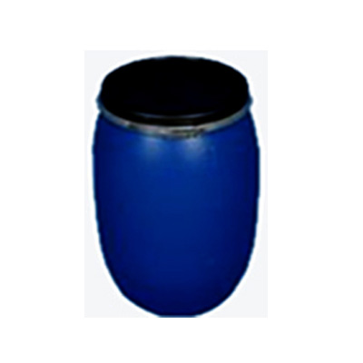 200 LITER CAPACITY HOOPED PLASTIC DRUM