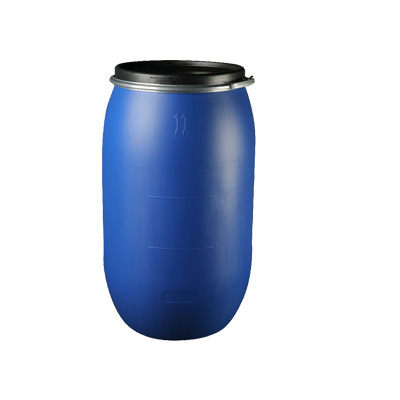 150 LITER CAPACITY HOOPED PLASTIC DRUM